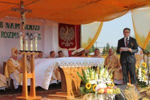 Do rolników przemówili Marszałek Sejmu i Województwa