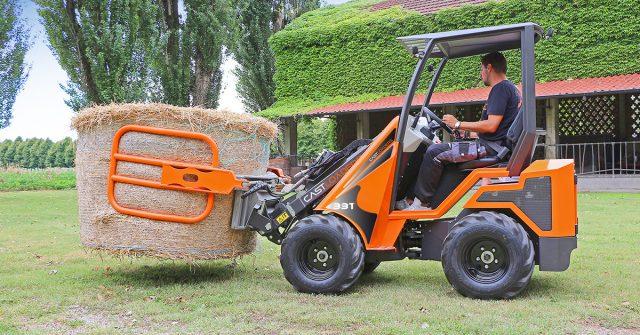 mini ładowarki kołowe dla rolnictwa