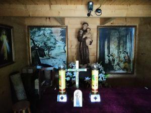 Kapliczka Św. Antoni z Padwy, niekiedy nazywanym Antonim Padewski