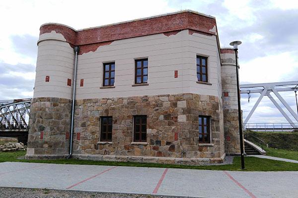Strażnica kolejowa Tryńcza w Chodaczowie